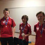 Junior-holdet vinder guld